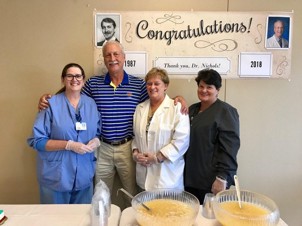 Dr. Robert Nichols retires from Crossville Medical Group